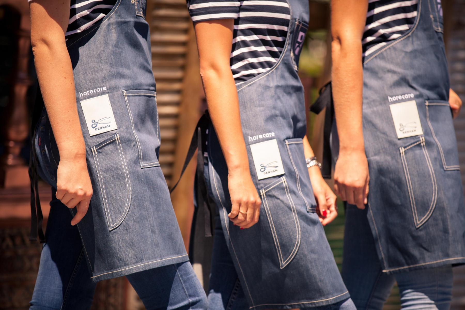 Horecare Denham tweede kledinglijn Maastricht Limburg events personeel horecare.eu