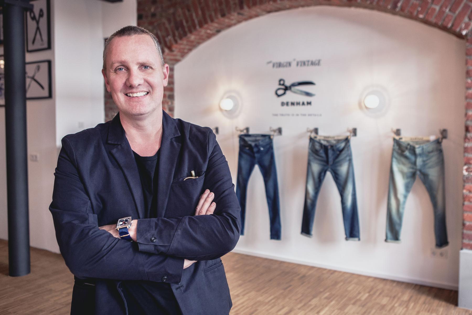 Horecare Jason Denham samenwerking tweede kledinglijn events personeel